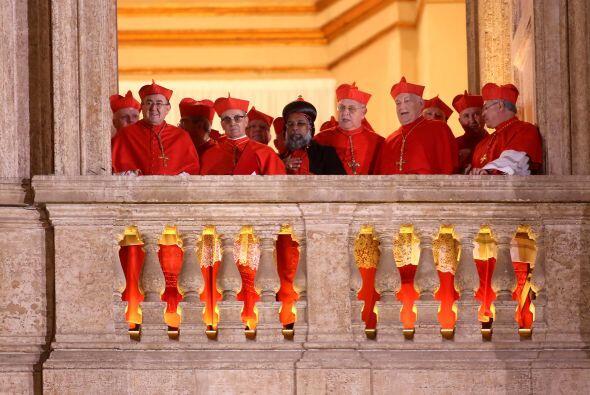 De hecho, fue de los pocos cardenales que cuando llegó a Roma para la el...
