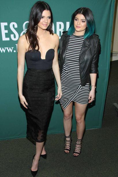 Las hermanas se llevan sólo tres años de diferencia Kendall 19 y Kylie 1...