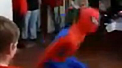 Spider-Man Fall Fail