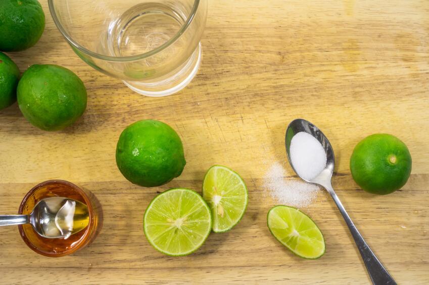 Limón con miel para el resfriado