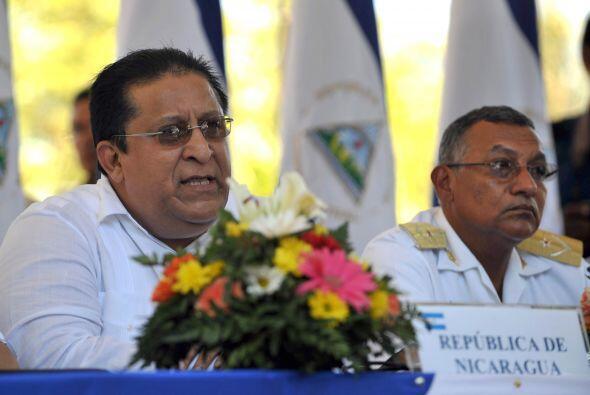 El vicecanciller de Nicaragua, Orlando Gómez y el viceprimer ministro de...