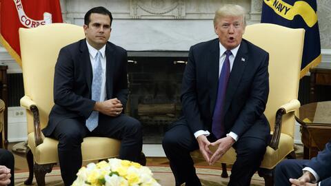 El gobernador de Puerto Rico, Ricardo Rosselló, pidió nuevamente al pres...