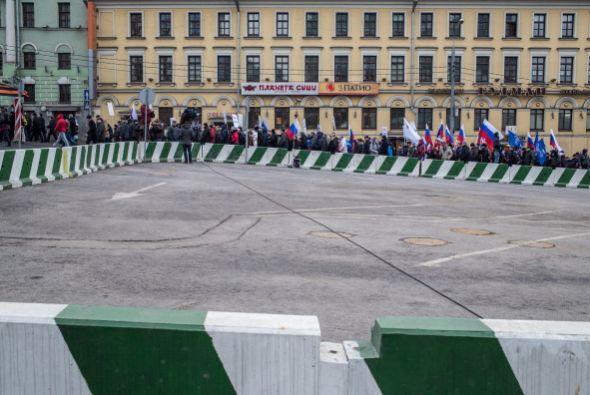 """La intervención del ejército ruso constituye un """"acto descarado de agres..."""