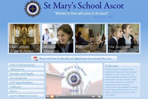 ST MARY'S SCHOOL ASCOT- El colegio está dedicado para niñas católicas de...