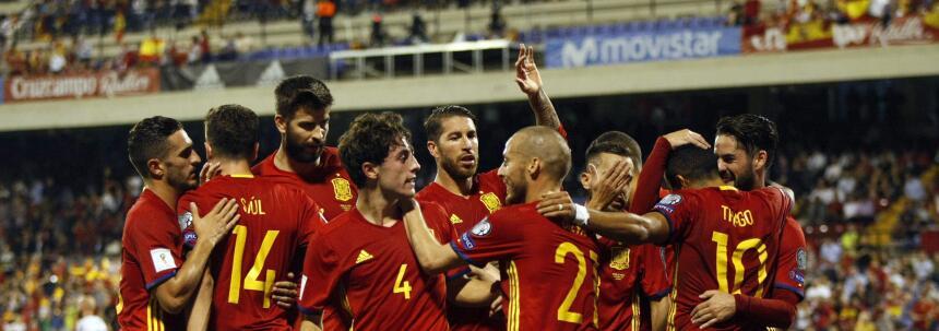 España se convirtió en el clasificado 11 a Rusia 2018 636429230875220573...
