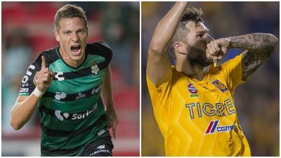 Duelo candente: Julio Furch y André-Pierre Gignac, goleadores en disputa