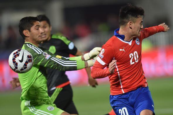 1.- Jesús Corona- El arquero mexicano no tuvo su mejor partido en el jue...