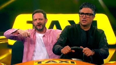 Jaime Camil dejó a un lado la actuación y se convirtió en el taxista de 'Me caigo de risa'