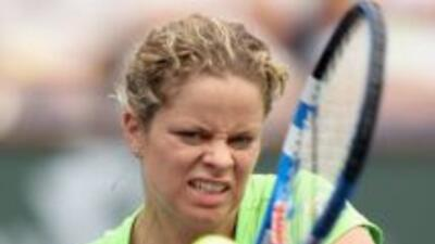 Kim Clijsters no ha tenido una buena campaña debido a las lesiones.