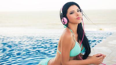Brenda Galho, belleza que hipnotiza