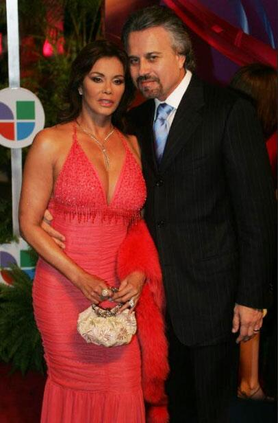 Lucía Méndez y Arturo Jordán