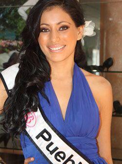 Con 20 años de edad, Andrea Castro Téllez es Nuestra Belleza Puebla.