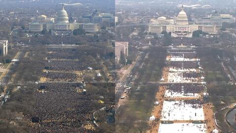 2009 vs. 2017: ¿Cuándo hubo más gente?