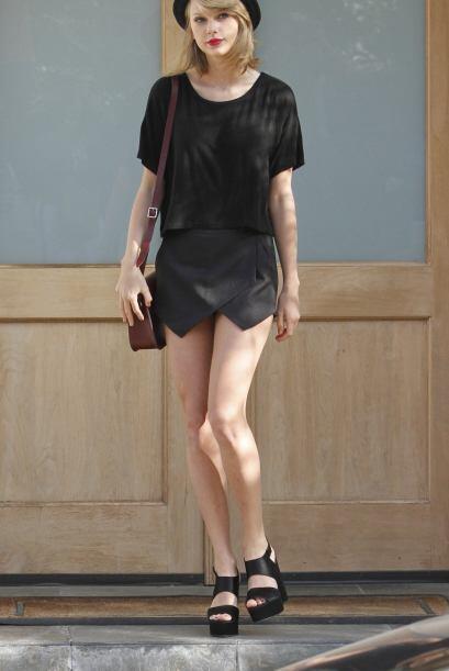 'Street style'. Taylor es de las 'celebrities' que incluso, para salir a...