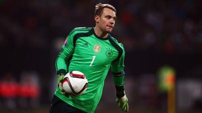 El portero de Alemania no disputará el amistoso ante La Roja.