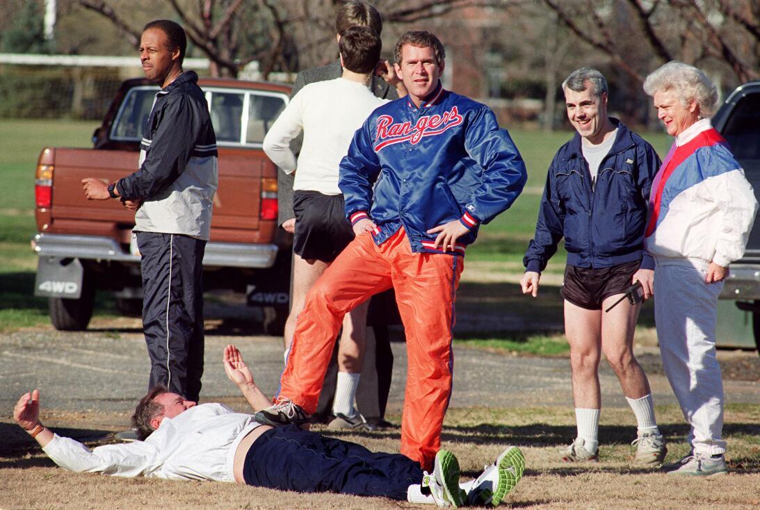 WASHINGTON, DC - JANUARY27: George W. Bush, son of the US President Geor...