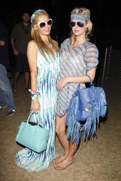 ¡Las hermanas Hilton siguieron imponiendo moda con sus 'looks'! Esta vez...