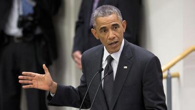 Obama pide apoyo en la lucha contra el ébola