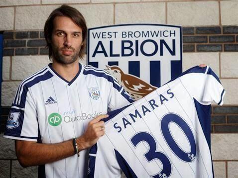 El delantero griego Georgios Samaras dejó al Celtic de Escocia pa...