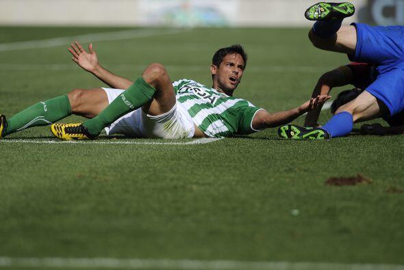 Pero no sólo se vio en jugadores del Barcelona, Roque santa Cruz del Bet...