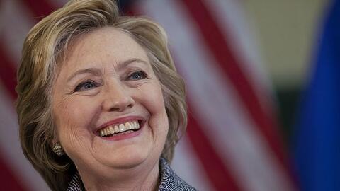 Hillary Clinton, virtual candidata demócrata a la presidencia de...