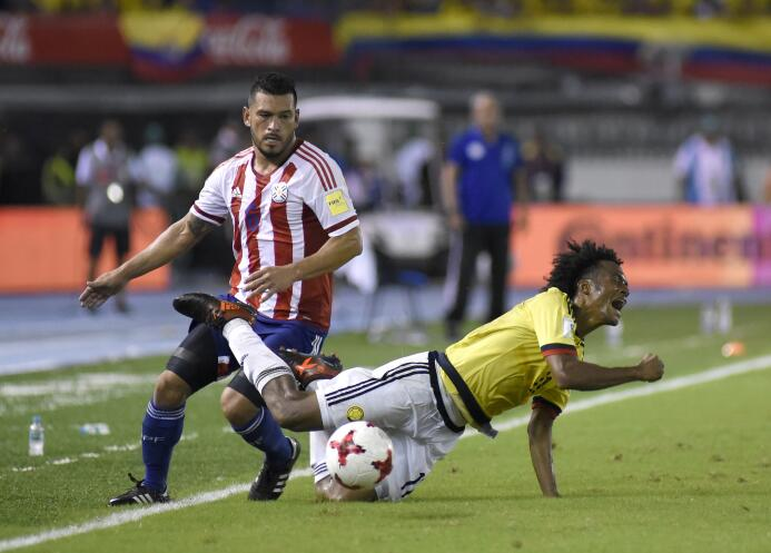 Miguel Samudio (Pargauay): el otro defensa de loas Águilas también fue t...