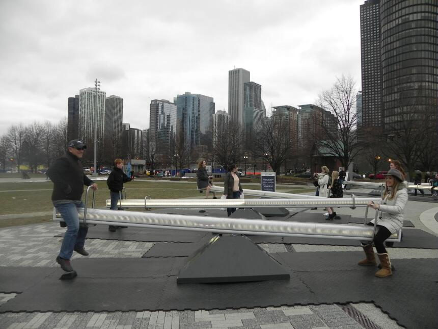 Renzo y Maria Esther visitaron la ciudad y suburbios de Chicago DSCN7436...
