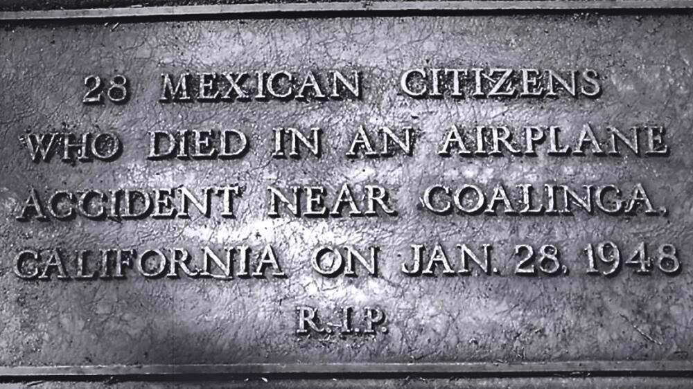 Tragedia California 28 deportados 1948
