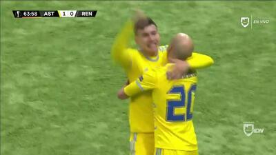 ¡GOOOL! Baktiyor Zainutdinov anota para FC Astana