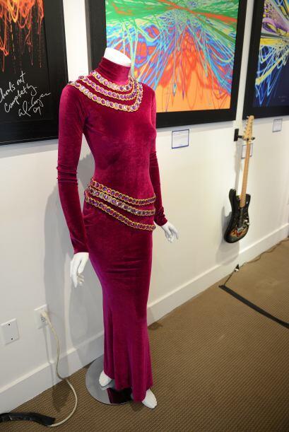 Este otro vestido de Houston también se encontró entre las piezas a suba...