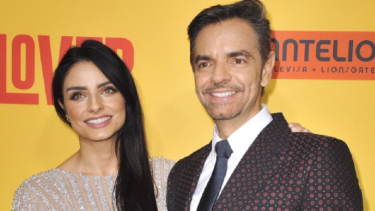 Eugenio Derbez y su hija en la alfombra roja de 'How to be a Latin L...