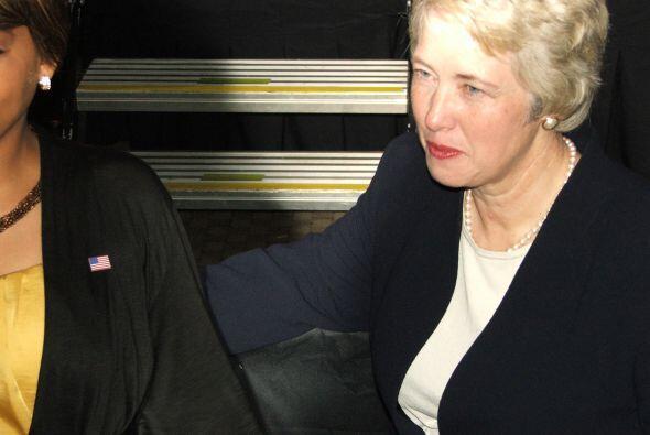 Entre ellos, la alcaldesa de Houston, Annise Parker, quien aseguró que h...