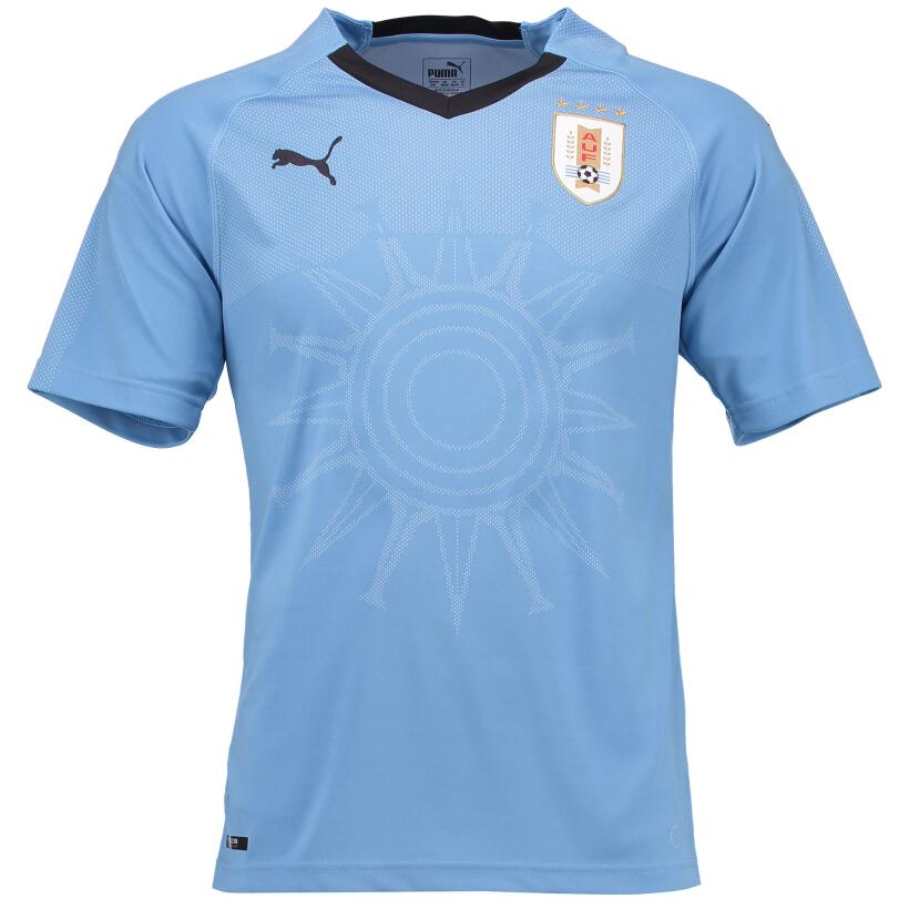 Estos son los jerseys que se verán en el Mundial de Rusia 2018 uruguay-2...