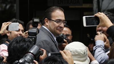Javier Duarte, gobernador con licencia de Veracruz. Ignoran su paradero