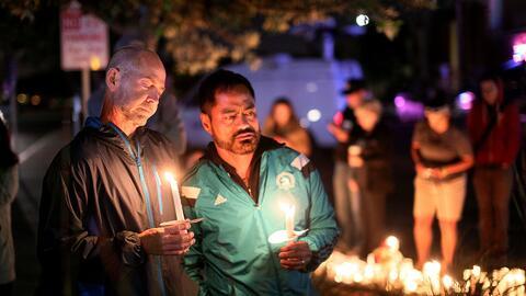 Tributo en memoria de las víctimas de la masacre en el club Pulse