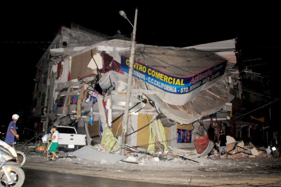 La devastación dejada por el potente terremoto en Ecuador ecuador6.JPG