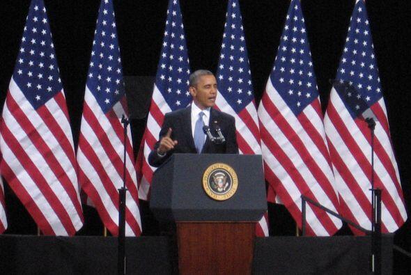 El Presidente resumió su plan: reforzar la seguridad en las fronteras, l...