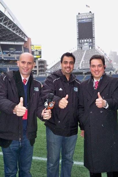 """Los """"Tres Mosqueteros de la MLS"""" listos para traerte la gran final. ¡Te..."""