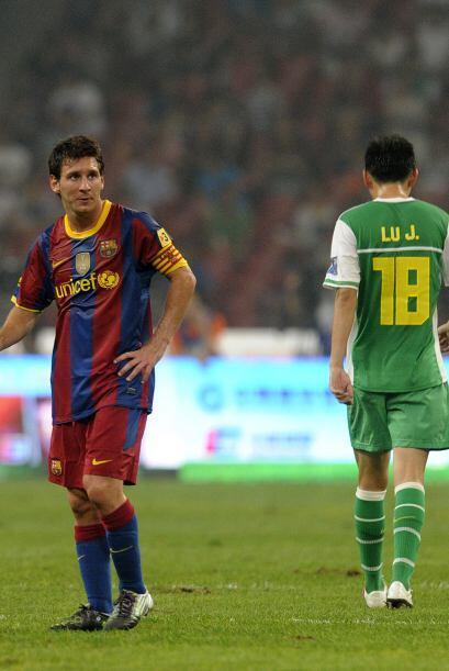 Barcelona culminó su gira por el continente asiático derrotando al Guoan...