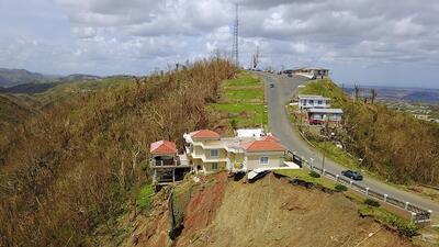 Imágenes de la devastación en Corozal tras el paso del huracán María
