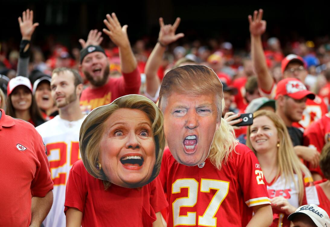 Donald Trump y Hillary Clinton: qué deportistas apoyan a cada candidato...