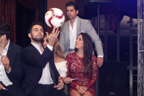 Pedro Moreno también estuvo apoyando en el evento RotaGol 2015. Cortesía...