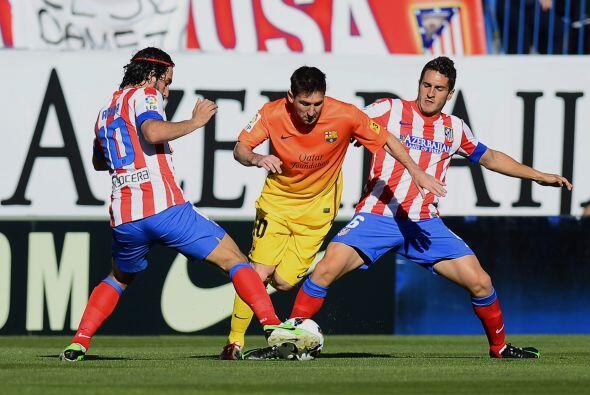 Los 'blaugranas', con Lionel Messi como titular, tenían el título asegur...