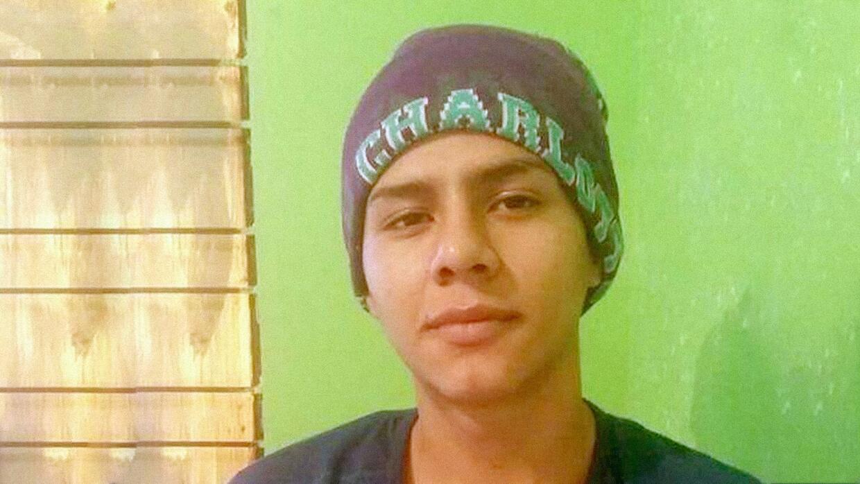 El inmigrante mexicano Brandon Martínez.