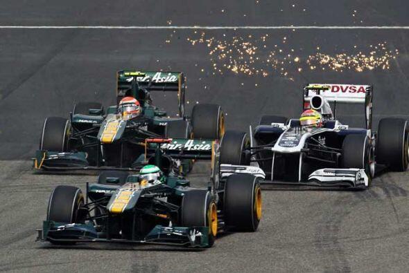 Los Lotus-Renault volvieron a dar una excelente demostración, aunque no...