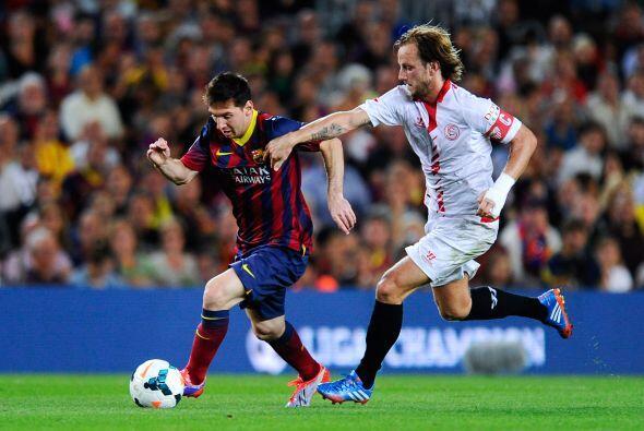 Messi no había aparecido tanto pero siguió superando rivales con base en...