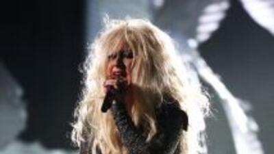 Christina Aguilera apareció con muchas, pero muchas libras de más y con...