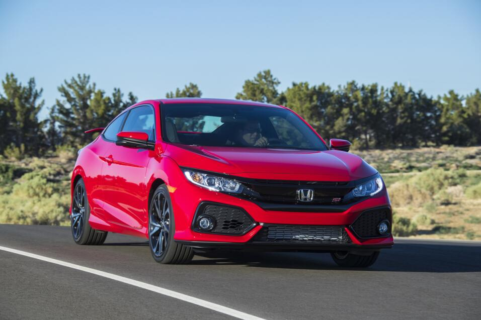 Honda Civic Si coupé 2017