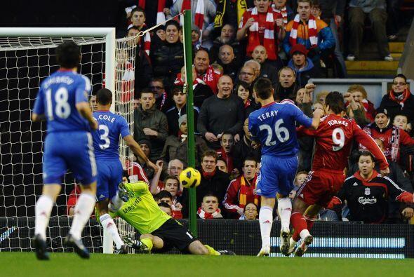 El 'Niño' Torres volvió a marcar, ya un tanto que parecía definitivo.