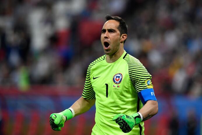 ¡Un ídolo muy Bravo! El arquero del Chile finalista de la Confederacione...